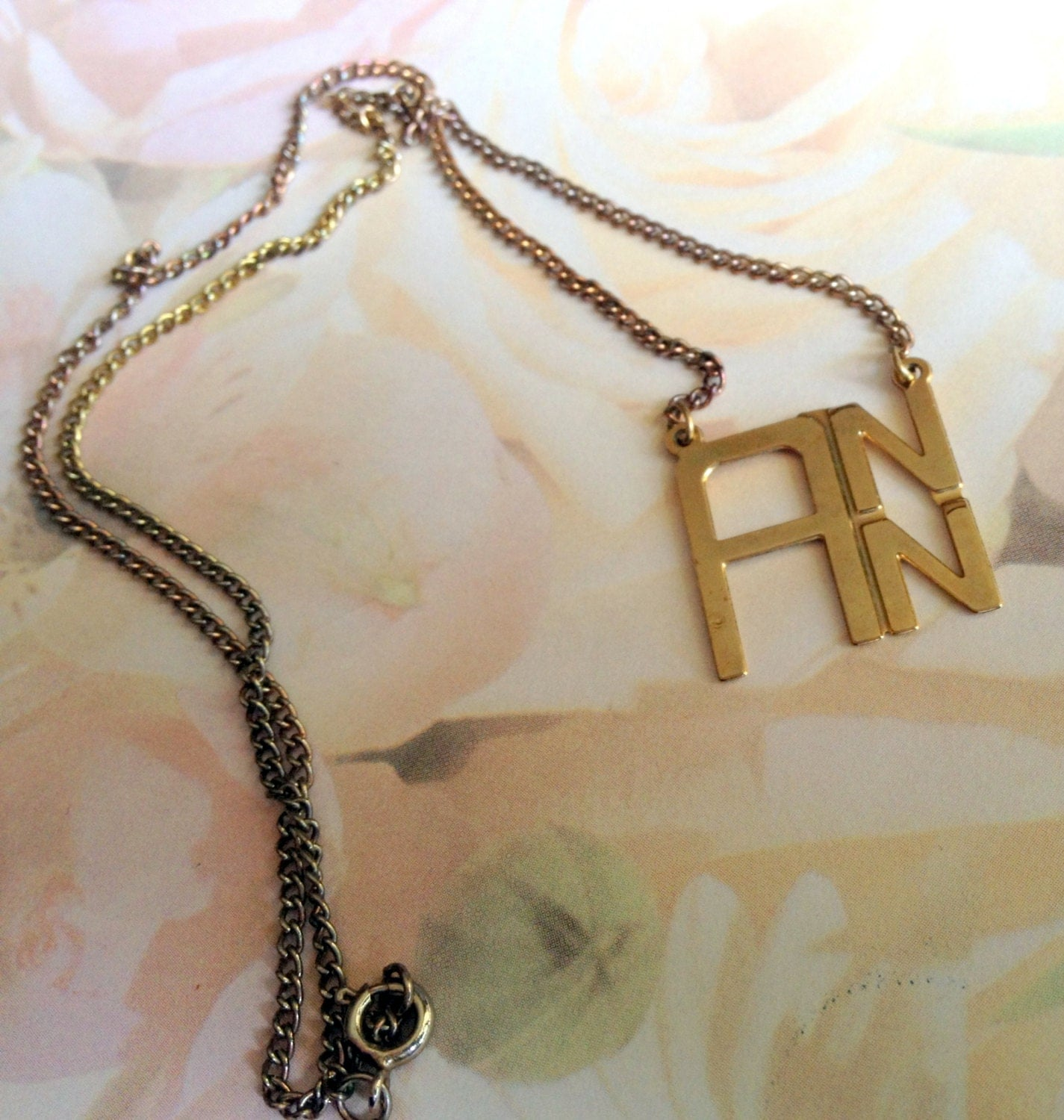 Choker Necklace Etsy: Name Necklace Ann Signature Etsy Jewelry Vintage Jewelry