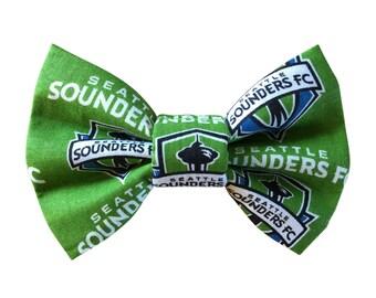 Seattle Sounders Dog + Cat Bowtie