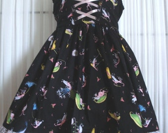 One of a Kind Dr Seuss Inspired Sundress 6/7years