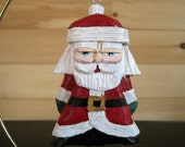 TRADITIONAL SANTA ORNAMENT