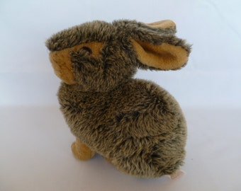 Dan Dee Plush Bunny Rabbit Brown