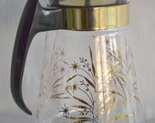Pyrex Clear Glass Coffee Pot/Pitcher Carafe Decanter Retro Mid Century Modern