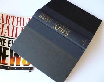 Arthur Hailey, The Evening News, First Edition, Doubleday New York, Literature & Fiction, News Reporter,