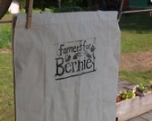Farmers For Bernie Ecolution Hand-stamped Reusable Bag