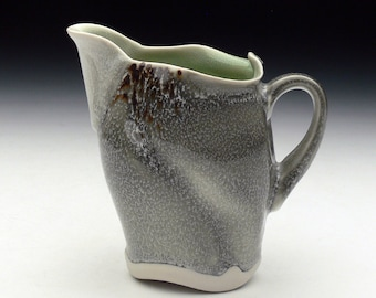 Grey and Green Creamer