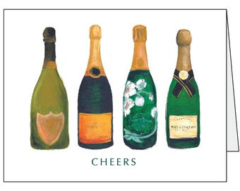 The Bevy Collection - SQUAD GOALS or CHEERS -  Greeting Card