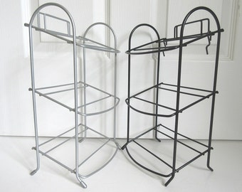 2 Wire Display Racks, Small 3 Tier