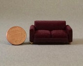 Quarter Inch Scale Furniture - Manhattan Style Sofa