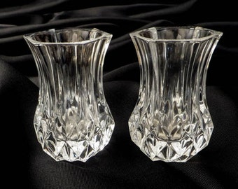 Cristal d Arques Lead Crystal Toothpick Holders - Set of 2