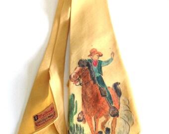 Vintage 40s Melbroke Wool Neckwear/Tie