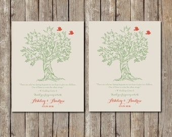 Wedding Gift for Parents from Bride and Groom, Thank you gift for Future In-Laws, Roots and Wings Poem, custom colors 8x10 print