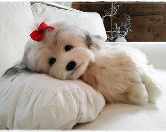 "Sewing Kit for 8 Inch Shi Tzu Mix Dog ""Bonnie"""