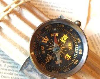 Custom Handmade Compass Bracelet