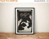 GEEKLOVE SALE Be the Nightmare // Black Swan Alternate Movie Poster #1 // Ballerina, Swan, and Blood Stained Grunge Print