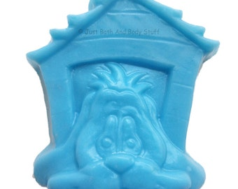 Dog House Handmade Soap Bar, Novelty Soap, In The Dog House, You pick scent & color