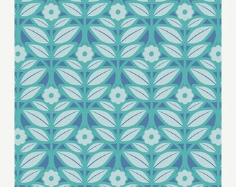 ON SALE - IMPRESSIONS Capri (Mo-4805) - Modernology by Patricia Bravo - Art Gallery Fabric - By the Yard