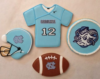 UNC-CH College Football Cookies