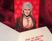 Star Trek Khan Valentine's Day card