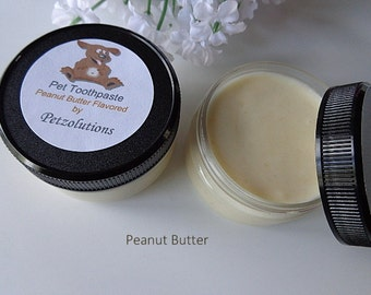 Natural Pet Toothpaste, 2 Variety Choices, Peanut Butter & Herbal Mint Flavored for Dogs, Original, Healthy Pet Teeth