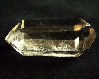 Smoky Quartz - Double Terminated Point, polished crystal, Shamanic crystal, Druid crystal, protection crystal, healing crystal