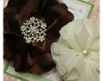 Hair clip-fall hair clips-flower hair clips-girl barrettes