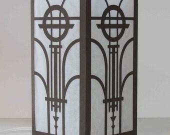 Laser cut Luminary #69 - Art Deco Design