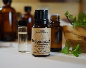 Peppermint Essential Oil - Pure Essential Oil