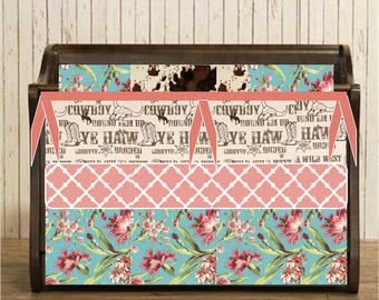 Shabby Chic, Western Crib Bedding, Cowgirl Nursery, Cow Print Bumper, Girly Western Skirt, Country Chic, Pink and Brown Baby