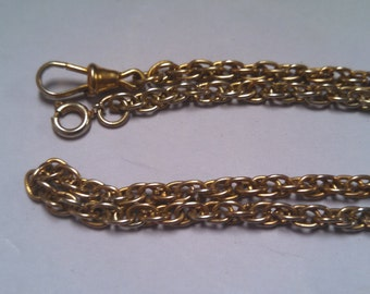 Costume Watch Chain and Fob