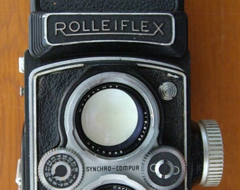Rolleiflex 3.5 MX-EVS Twin Lens Reflex Camera - Last Version of Automat series made in 1954