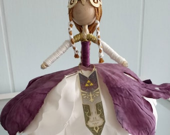 Princess Zelda Flower Doll