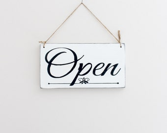 Business Sign, Open Sign, Closed Sign, Custom Sign, Store Sign, Wall Art, Wood Sign