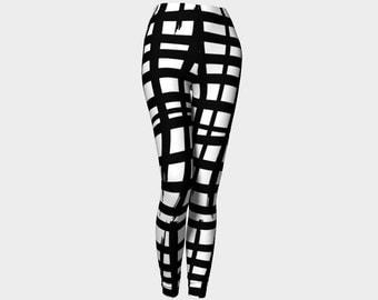 Sketched Grid Pick Your Color Leggings