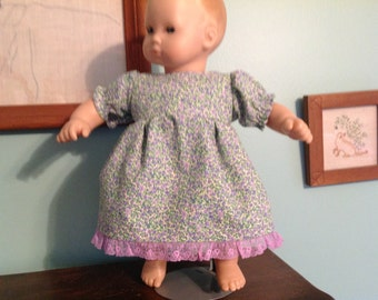 "Bitty Baby Style Doll Clothes, fits a 15"" doll"