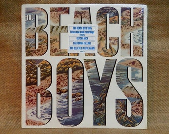 The BEACH BOYS - The Beach Boys - 1985 Vintage Vinyl Record Album