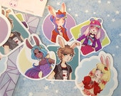 Bunny Kids Stickers Set