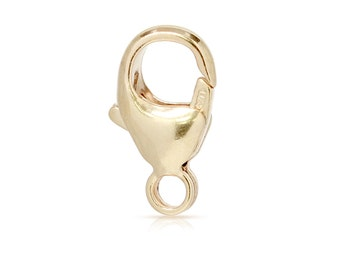 Oval Trigger Clasp 11.5x6mm 14kt Gold Filled Lobster Closures - 15pcs 20% Discounted Wholesale Price (2872)/5