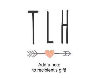 ADD-ON - add a note to recipient's gift