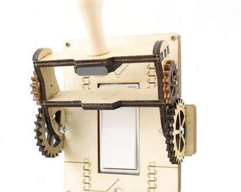 Steampunk Rocker Old fashion knife Switch