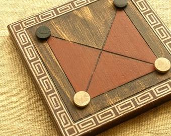 ANCIENT BOARD GAME - Woodwork - Art - Handmade - Decoration - Gift - Wedding gift - Christmas gift: Pong Hau K'i (China)