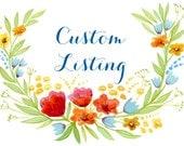 Custom Listing for Candida