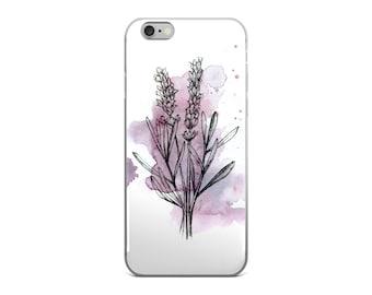 Iphone 6s Case Floral, Iphone 7 Plus Case, Iphone 6s Case Flowers, Iphone Case Lavender, Iphone Case Floral, Iphone Case Cute, Gift Idea
