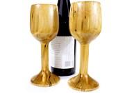 Birch Wine Glass Set - Handmade