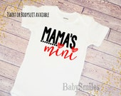 Mama's Mini Shirt Cute Shirt Hipster Shirt Kids Shirt Baby Bodysuit Baby Shirt Kids Tee Hipster Baby Mothers Day Sweet Baby Shirt Matching