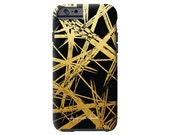 GOLD STROKES faux gold iPhone 6/6s, iPhone 6/6s PLUS,  iPhone 5/5s case, Samsung Galaxy S6