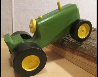 Iittle green tractor