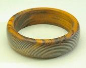 Exotic Wood Bangle Bracelets in a size 9.5