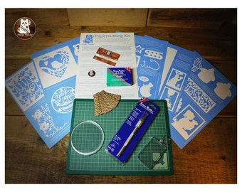 NEW Papercutting DIY Kit - Over 18's