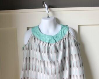 Arrow Print A Line Dress Size 5