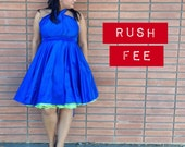 Rush Fee added to previously purchased Infinity Dress . Contact Me First  ... Bridesmaids, Cocktail Party, Date Night, Beach, Prom, Quincean